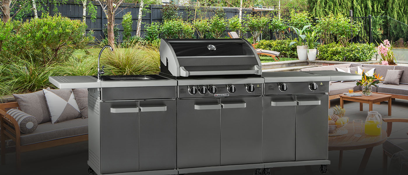 bbq outdoor kitchens browse all products matador bbqs